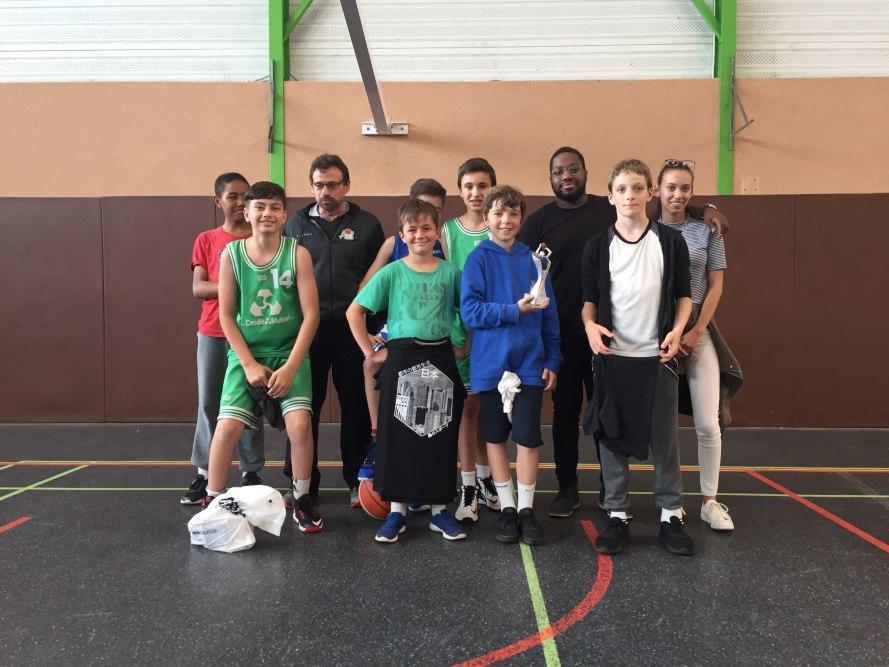 Nos Benjamins victorieux du tournoi de Saint-Molf
